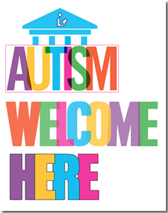 Autism Welcome Here grant logo