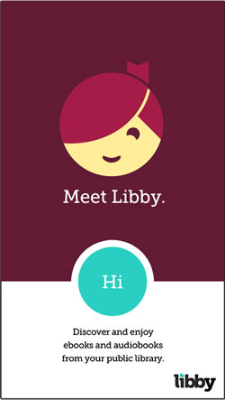 Libby app from OverDrive