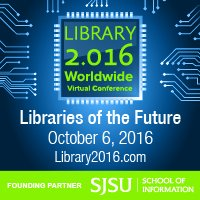 Libraries of the Future online mini-conference logo