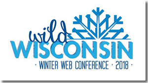 Wild Wisconsin Winter Web Conference 2018 logo