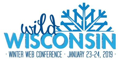 Wild Wisconsin Winter Web Conference 2019 logo