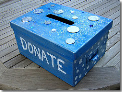 Try A Cash Donation Box For Easy Fundraising Library Sparks