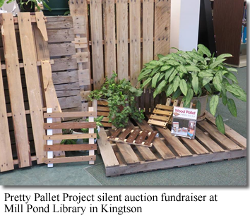 Pretty Pallet Project silent auction fundraiser