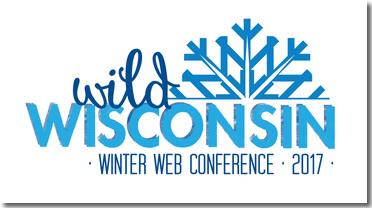 Wild Wisconsin Winter Web Conference 2017 logo